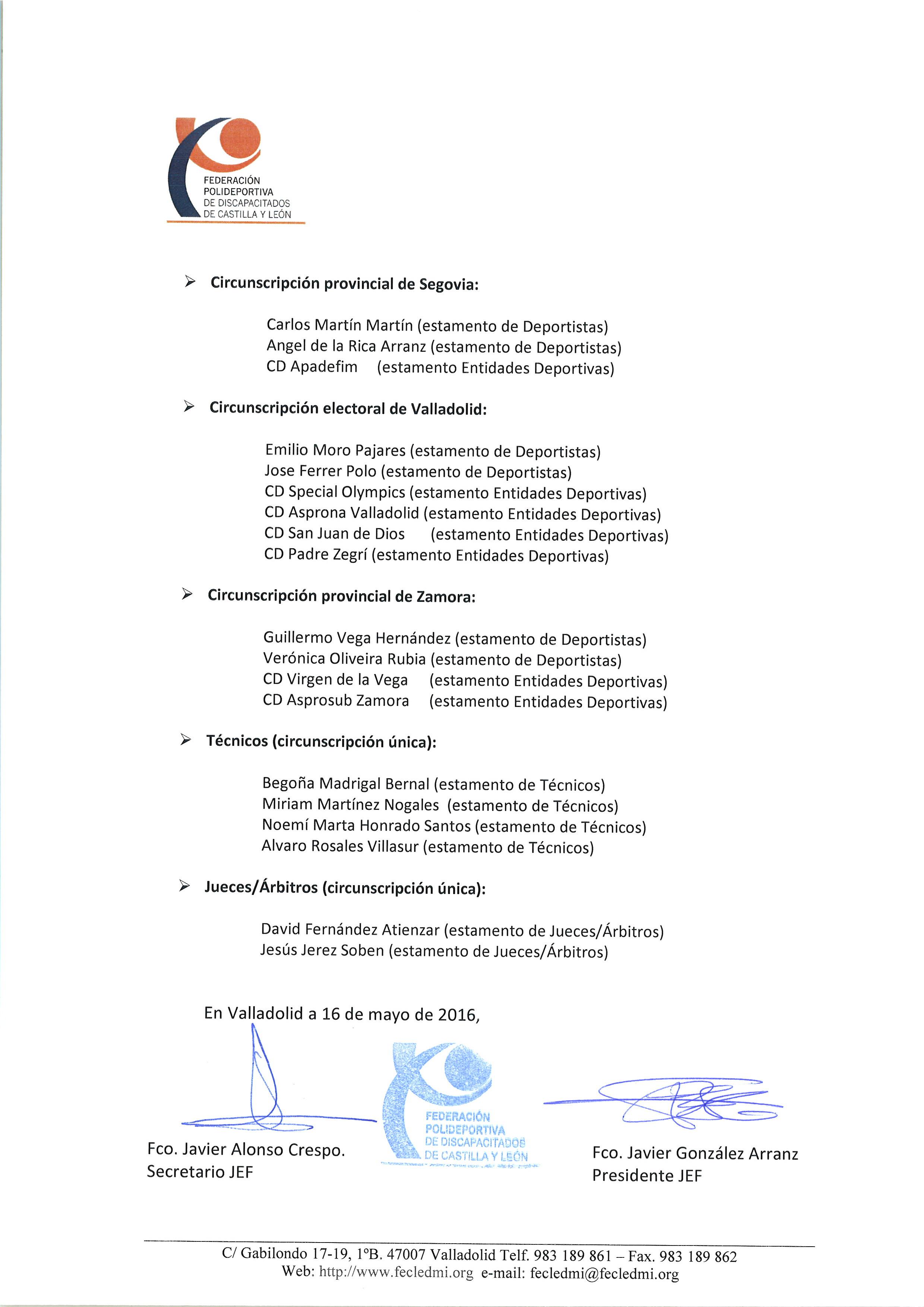 15 Proclamacion Definitiva Candidaturas