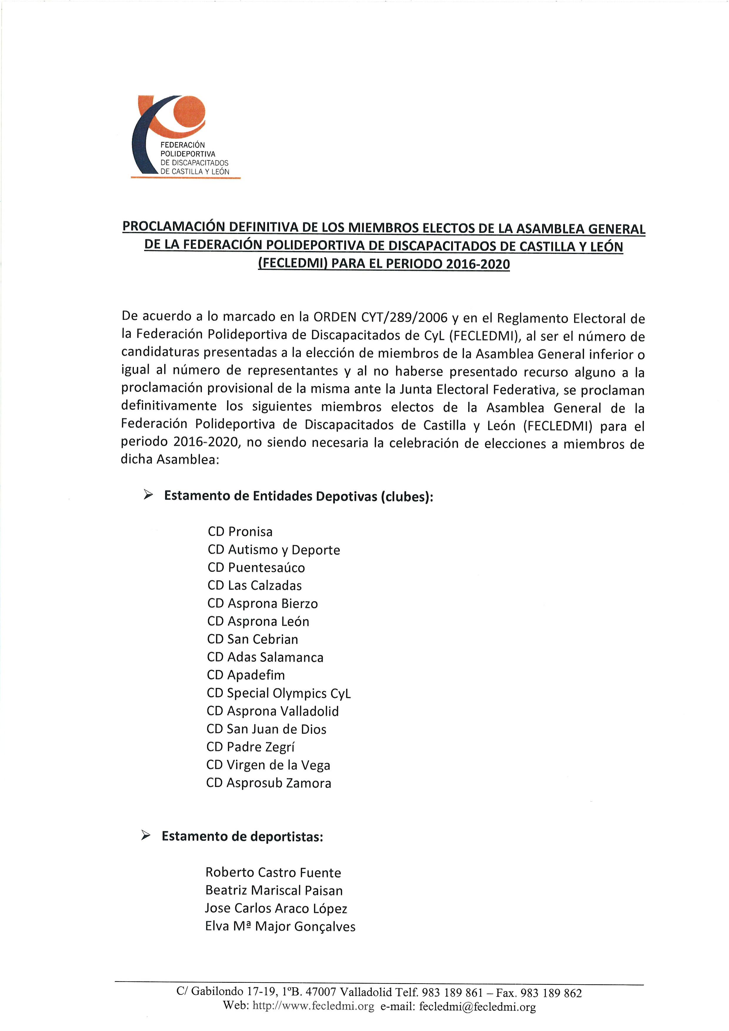 17 Proclamacion Definitiva Miembros Electos