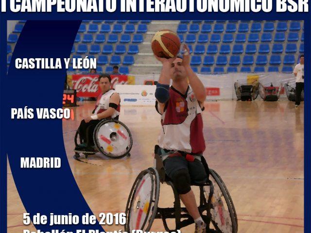 Torneo Interautonómico de Baloncesto en Silla de Ruedas