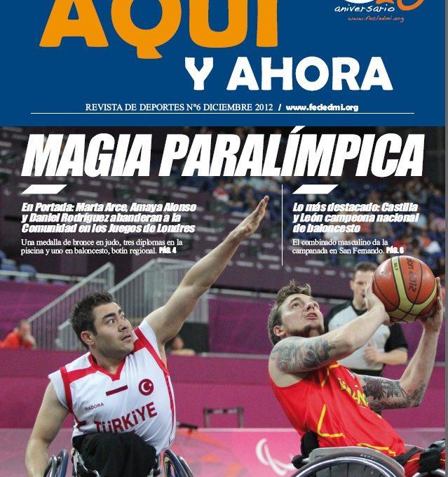 Portada de la revista Aquí y Ahora 2012