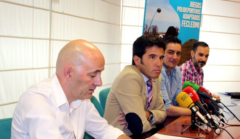 Presentación de los Juegos Polideportivos Adaptados de Ponferrada./ FECLEDMI