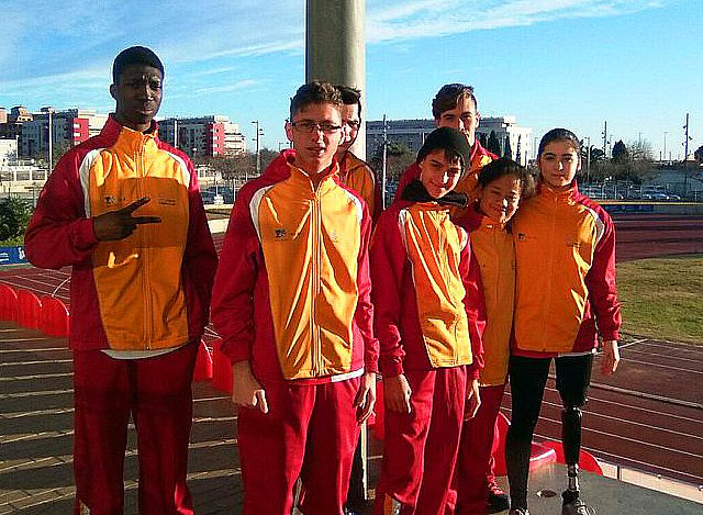 Selección Jóvenes Promesas Atletismo