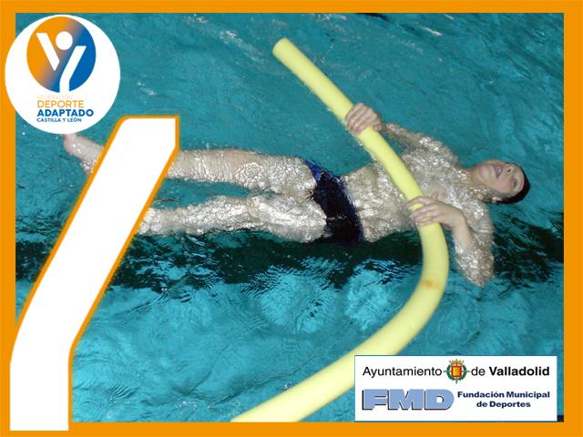 Programa de natación para niños con dificultades motóricas