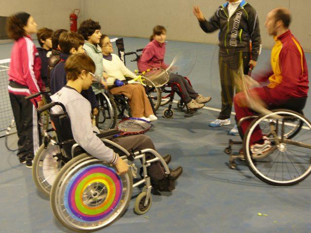 Escuela de Tenis para niños con Dificultades Motoras