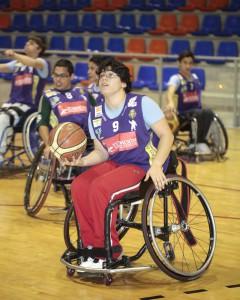 Escuela de Baloncesto en Silla de Ruedas