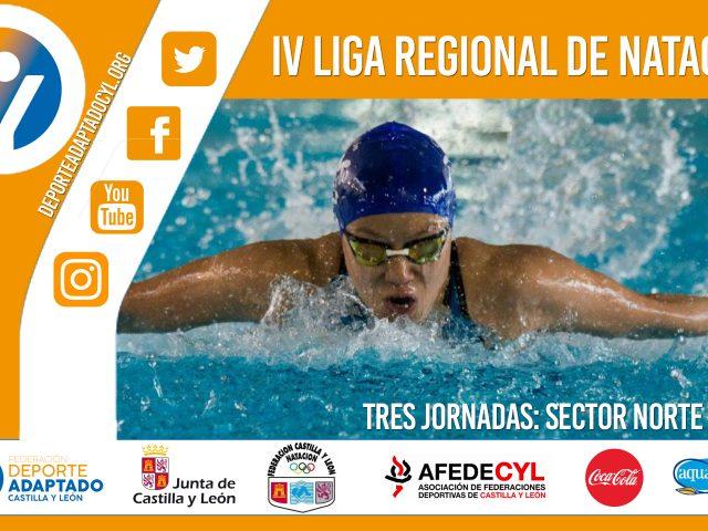 IV Liga Regional Natación Adaptada Castilla y León