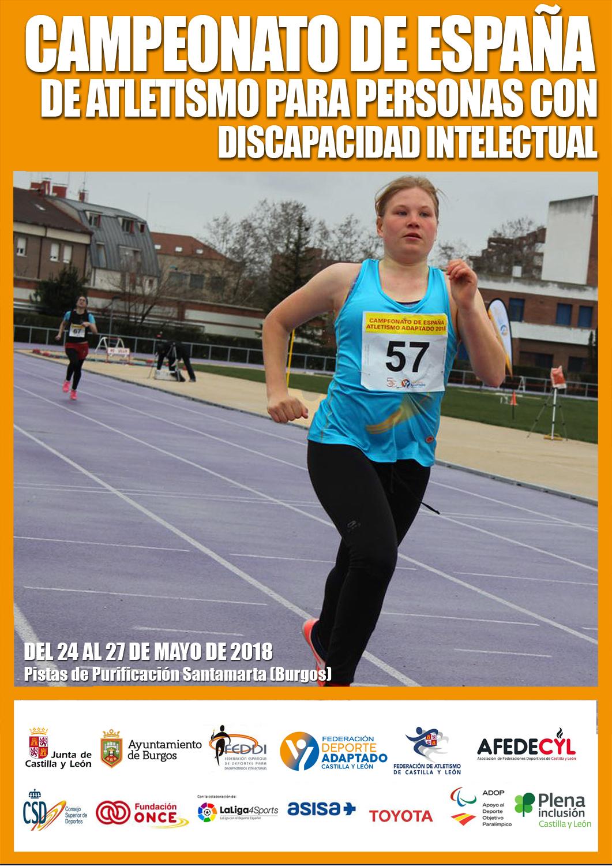 Campeonato de España de Atletismo FEDDI