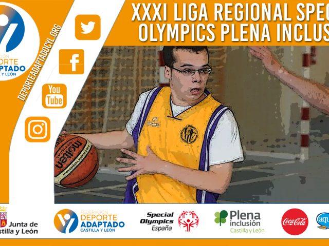XXXI Liga Special Olympics Plena Inclusión Castilla y León