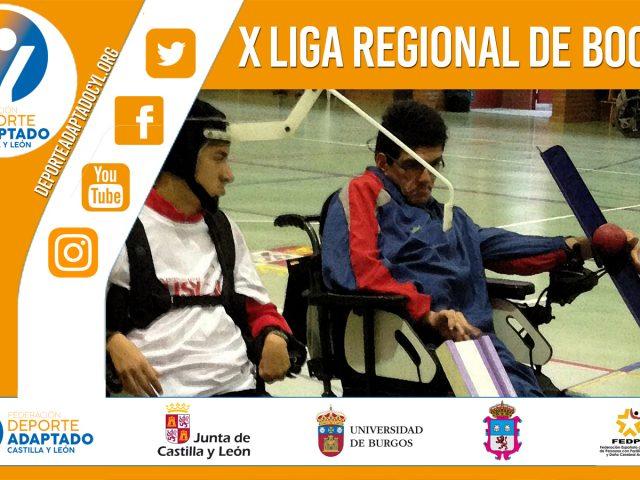 XI Liga Regional de Boccia