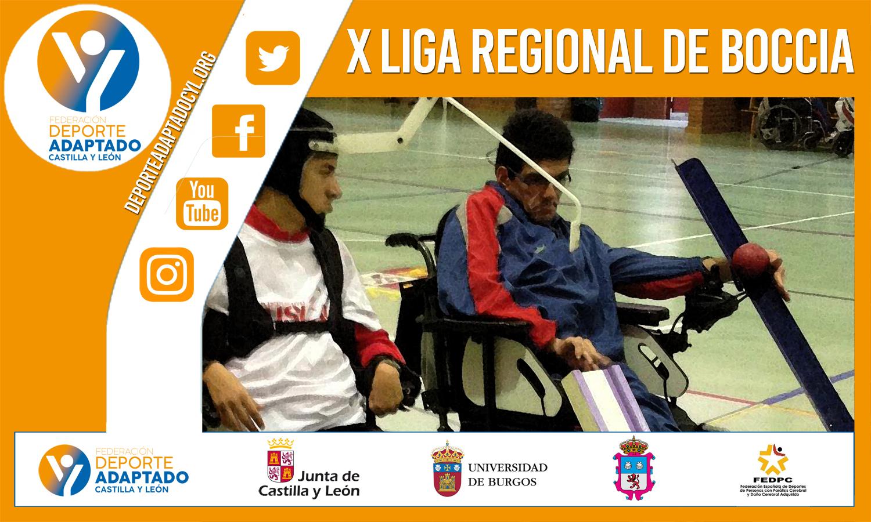 1ª jornada X Liga Regional de Boccia