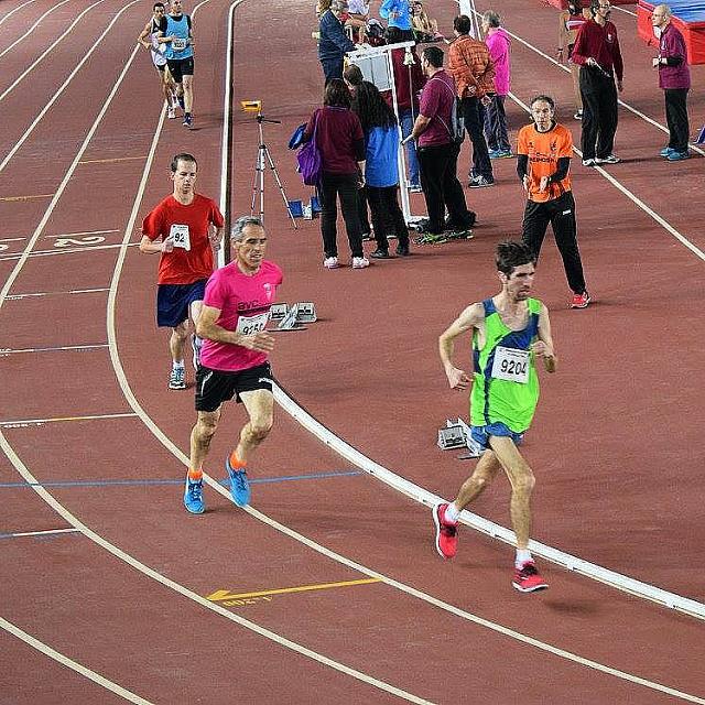 Control Regional de Atletismo Pista Cubierta
