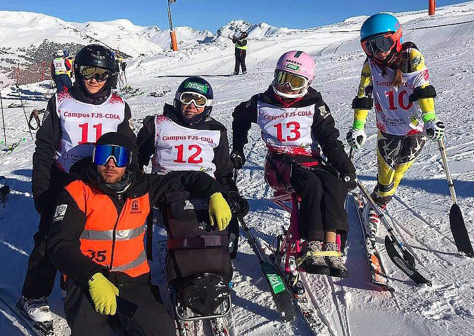 Copa de España de Esquí Alpino. FUNDACIÓN TAMBIÉN