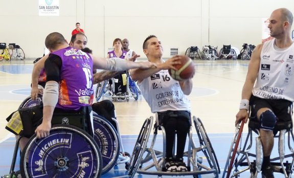 Burgos abandera la fiesta del baloncesto en silla