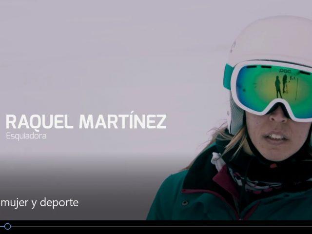 Mujer y Deporte Raquel Martínez y Marta Fernández