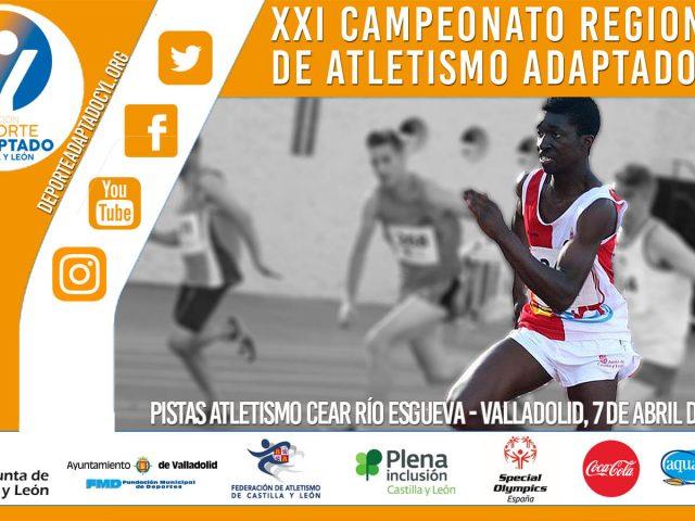 XXII Campeonato Regional de Atletismo Adaptado