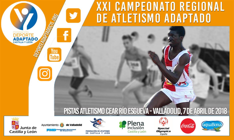 XXI Campeonato Regional de Atletismo aire libre