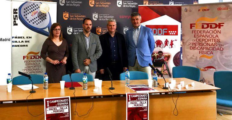 Presentación del I Campeonato de España de Padel en Silla de Ruedas. FEDEACYL