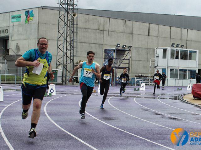 Campeonato de Castilla y León de Atletismo Adaptado.
