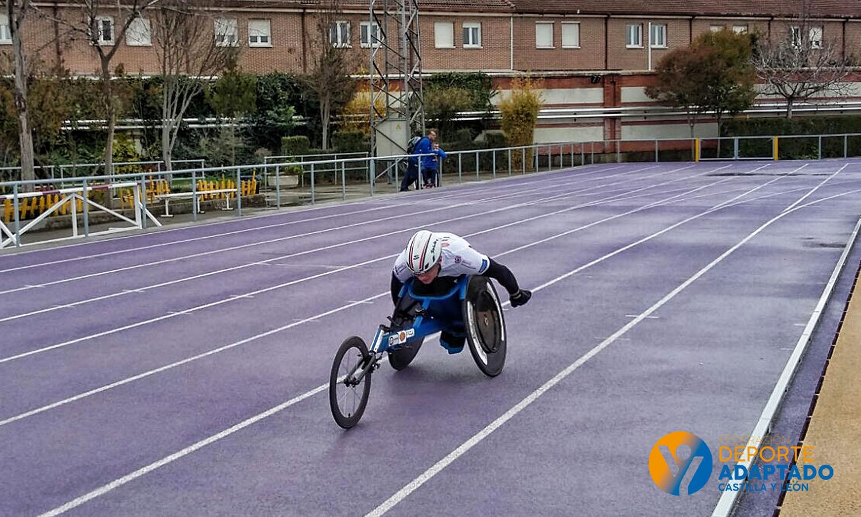 Campeonato de España de Atletismo Paralímpico en Valladolid. FEDEACYL
