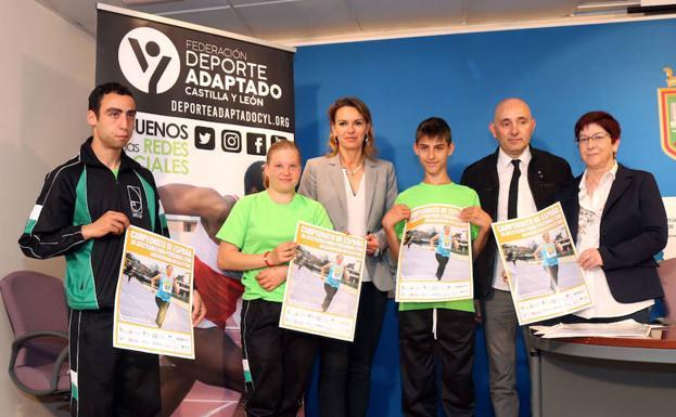 Presentación del Campeonato de Atletismo para Personas con Discapacidad Intelectual en Burgos. RGO