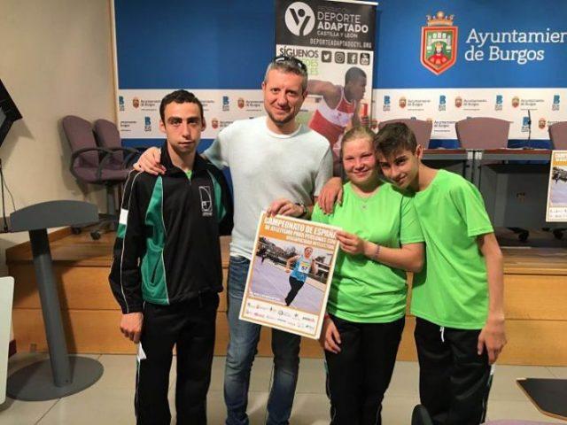 Burgos, lista para disfrutar del atletismo adaptado