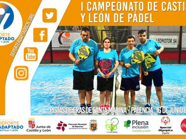 I Campeonato Regional de Pádel