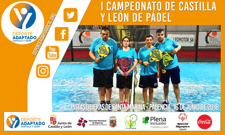 Campeonato Pádel de Castilla y León. FEDEACYL