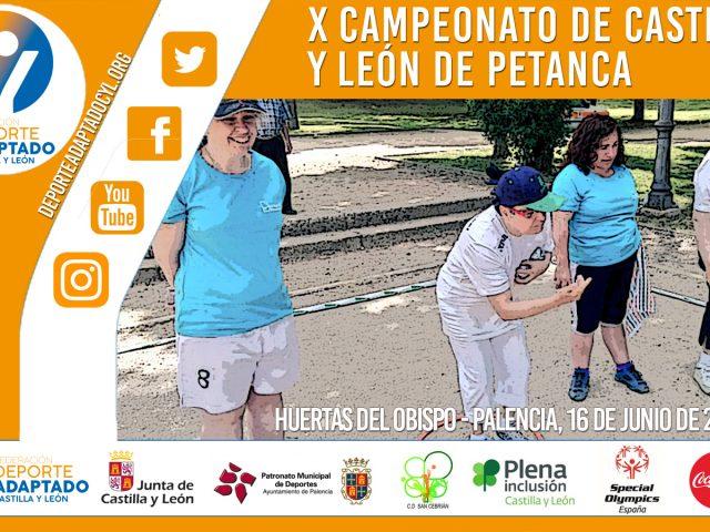 X Campeonato Regional de Petanca