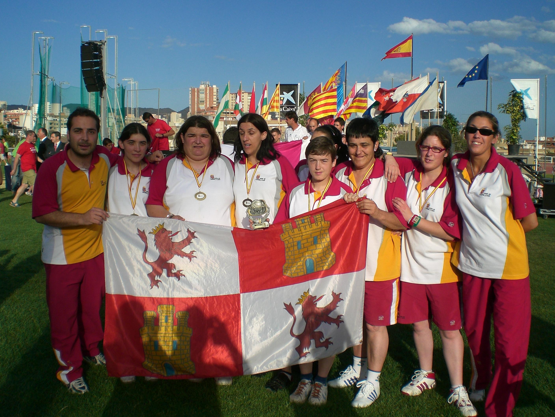 Selección de Castilla y León de baloncesto femenino 2009. / FEDEACYL