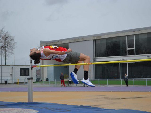 Dani Pérez, en el Autonómico de Atletismo Adadptado.