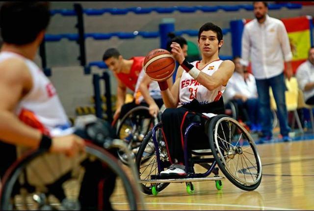 Pablo Lavandeira, el 'millennial' de la 'ÑBA' paralímpica