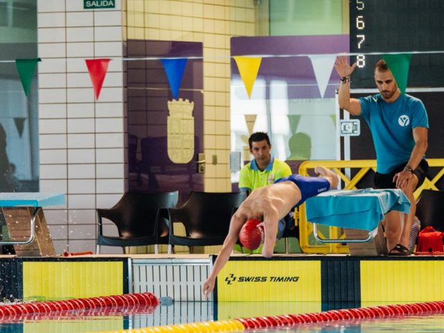 Luis Huerta, convocado por España para el Europeo de Natación Adaptada