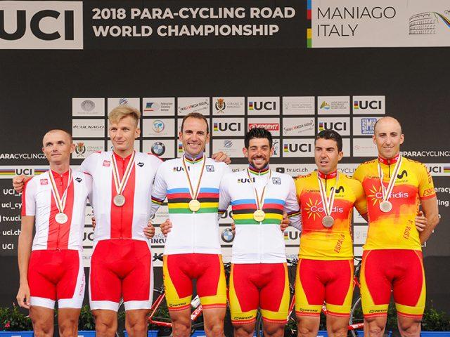 El tándem Bellido-Martín logra el bronce en un Mundial de Ciclismo muy español