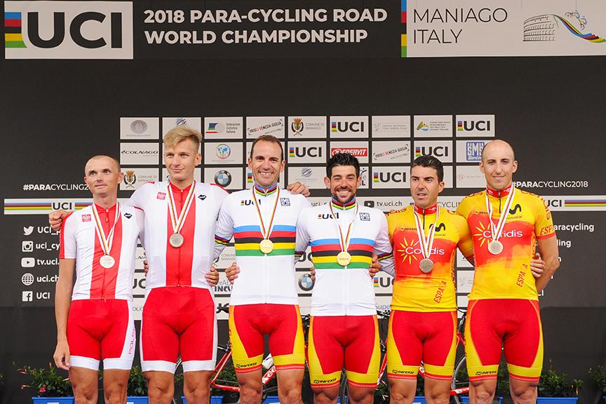 Campeonato del Mundo de Ciclismo Adaptado 2018