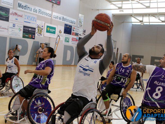 XV Copa Fedeacyl de Baloncesto en Silla