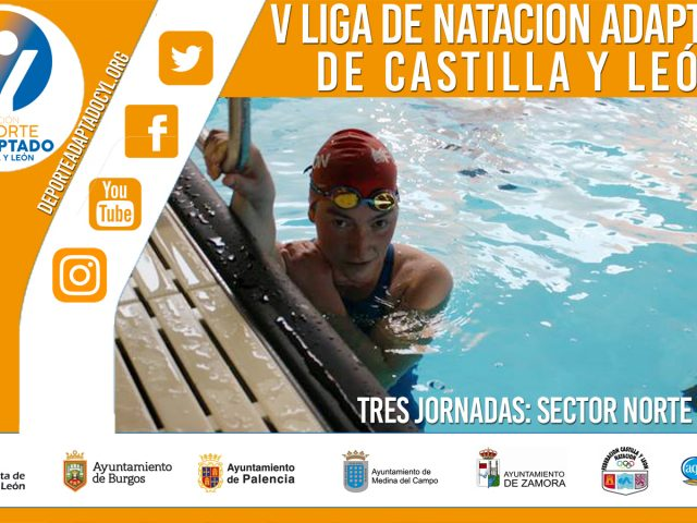 V Liga Regional Natación Adaptada Castilla y León