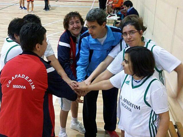 El Apadefim coge el tren de la Liga Special Olympics Plena Inclusión