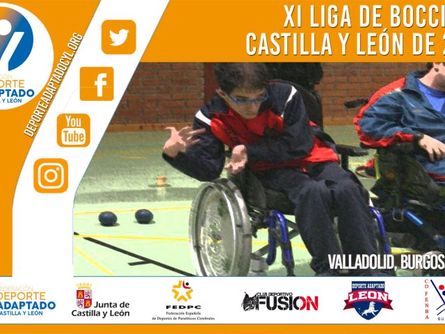 XI Liga de Boccia de Castilla y León 2019