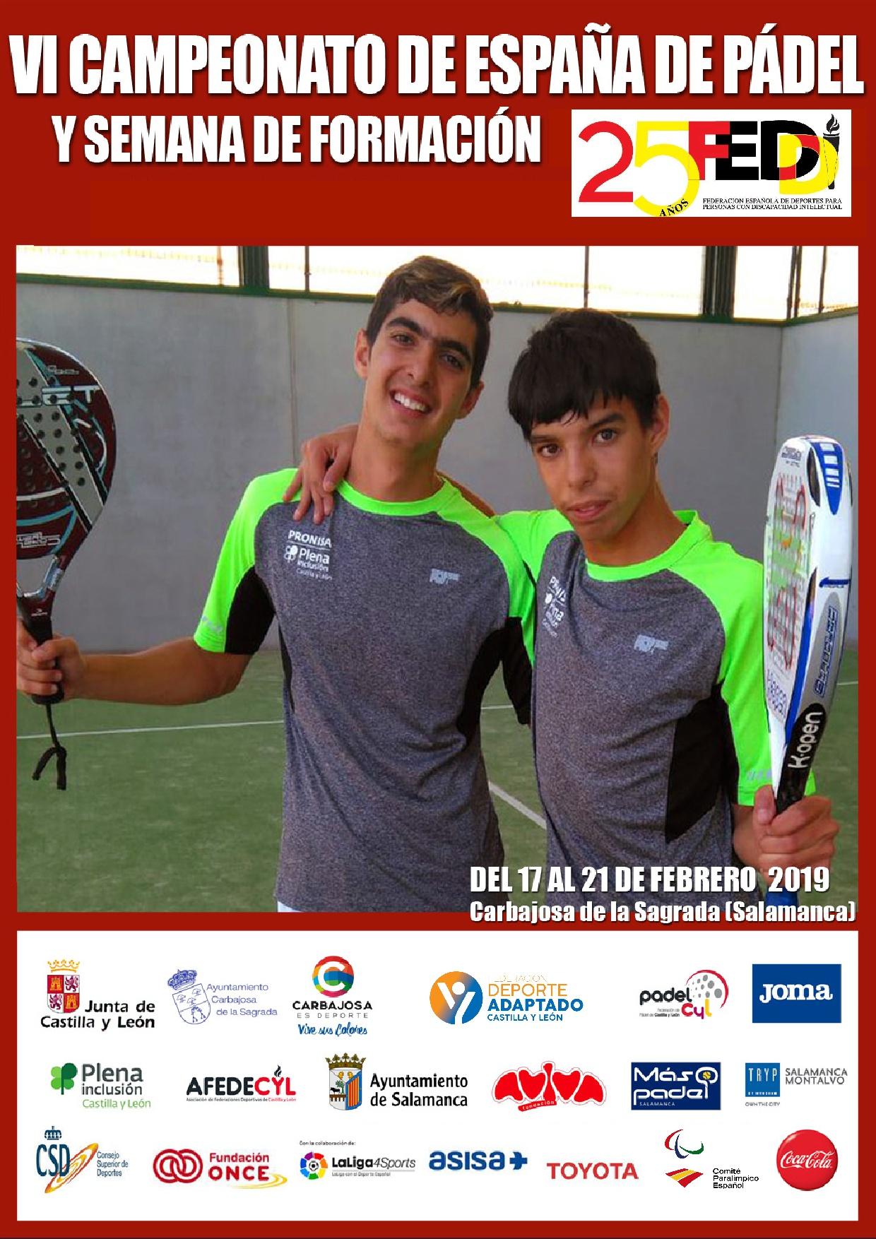 Campeonato de España de Pádel FEDDI