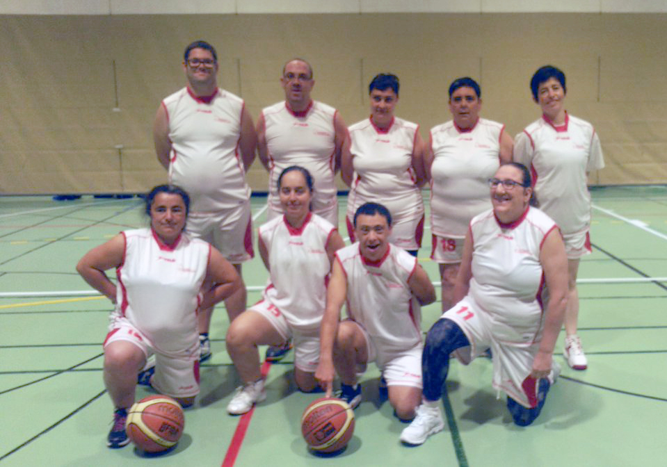 CD San Cebrián de baloncesto mixto. / CD SAN CEBRIÁN