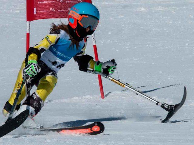 María Martín Granizo, campeona de España de esquí