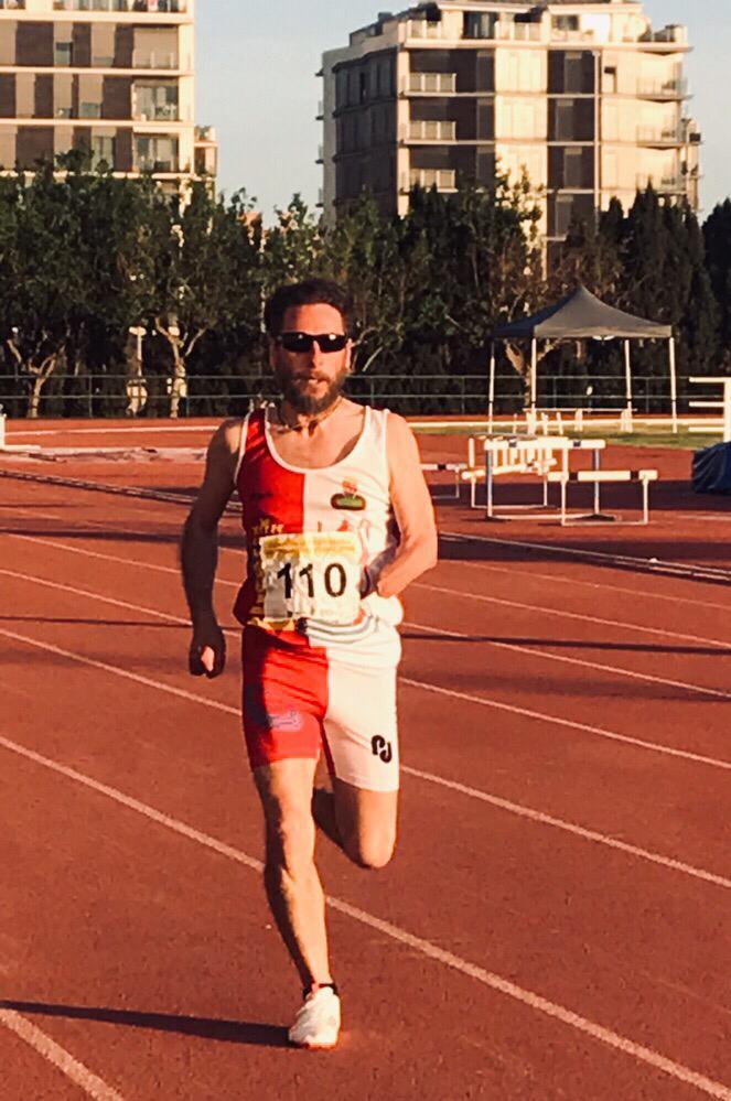 Rafael de Castro, triple medalla de plata en el Nacional. / FEDEACYL