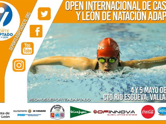 VIII Open Internacional de Natación Adaptada de Castilla y León