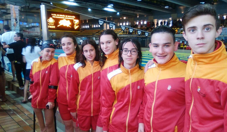 Selección de Castilla y León Inclusiva de Natación