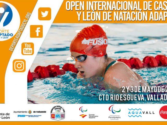 IX Open Internacional de Natación Adaptada de Castilla y León