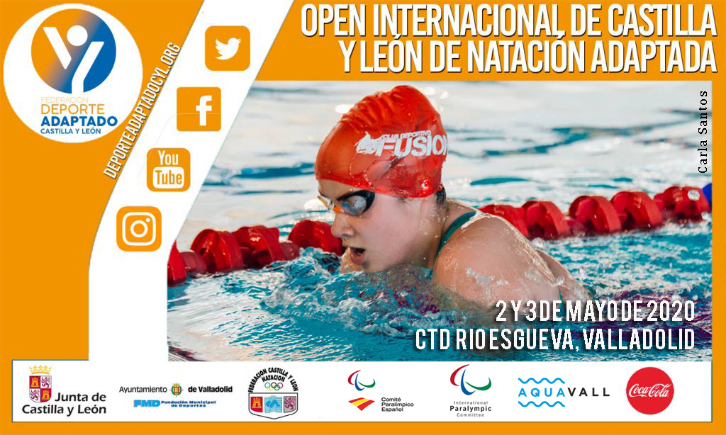 IX Open Internacional de Castilla y León de Natación Adaptada