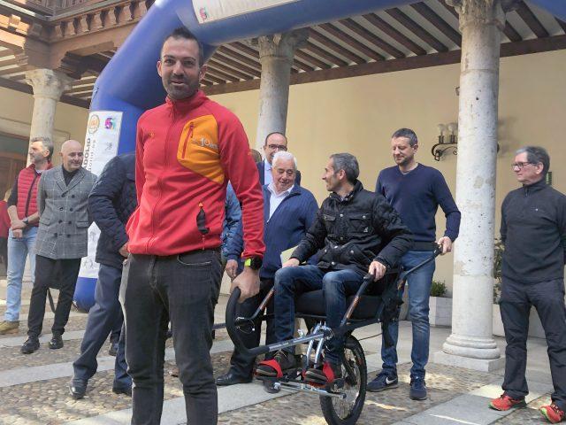 Valladolid senderismo accesible. FEDEACYL