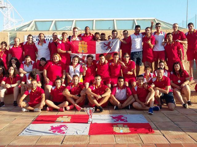 Castilla y León finaliza en quinto lugar el Campeonato de España