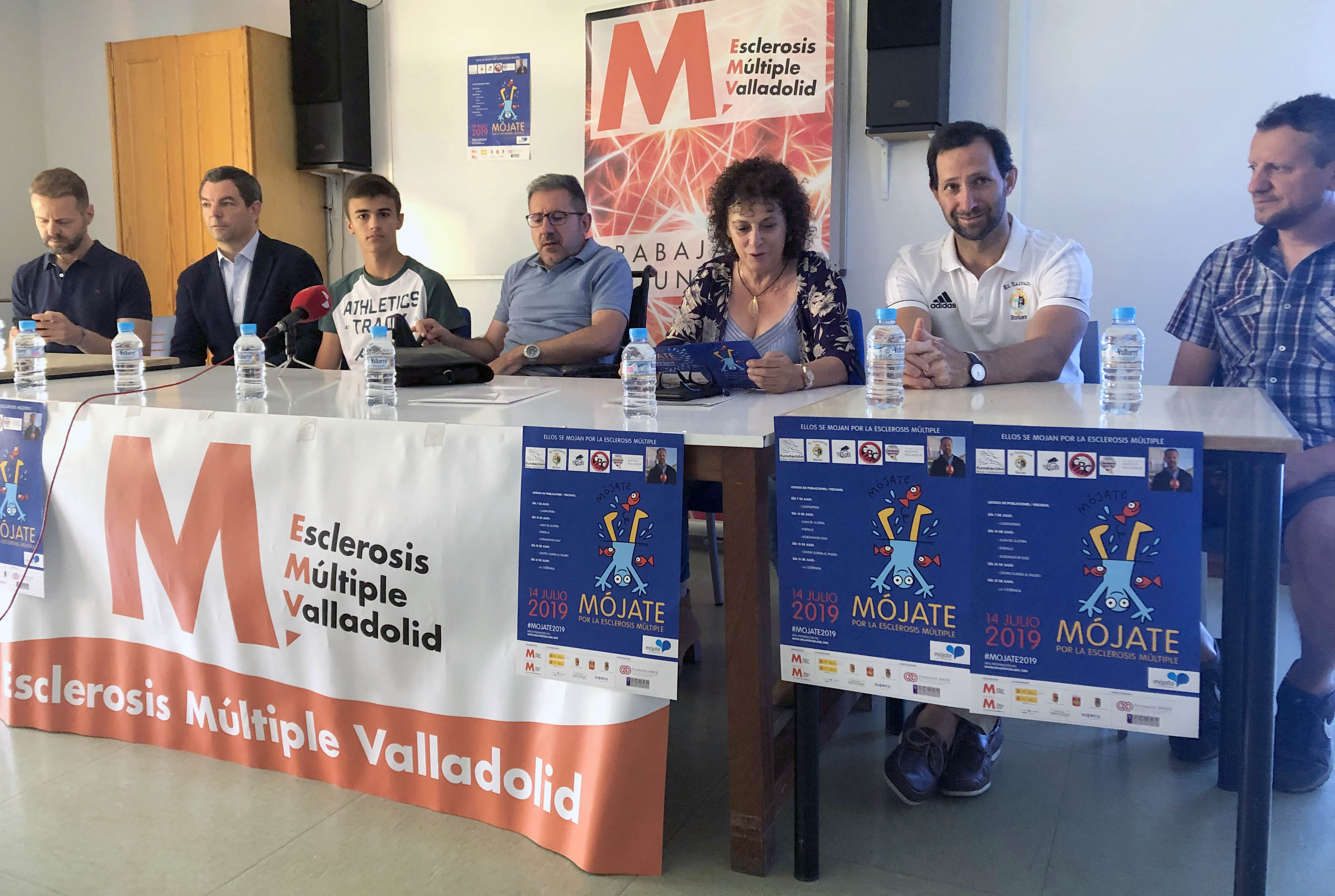 Presentación de la campaña 'Mójate' en Valladolid. FEDEACYL