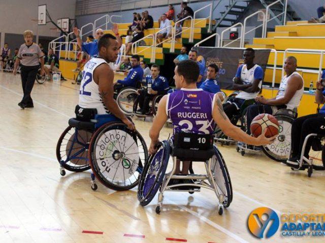 Palencia recupera el mejor baloncesto en silla de ruedas con la Copa Fedeacyl
